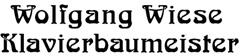 Wolfgang Wiese Klavierbaumeister